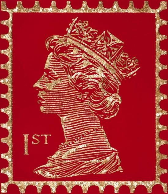 Королевские мозаики из пуговиц от Анны Каррингтон