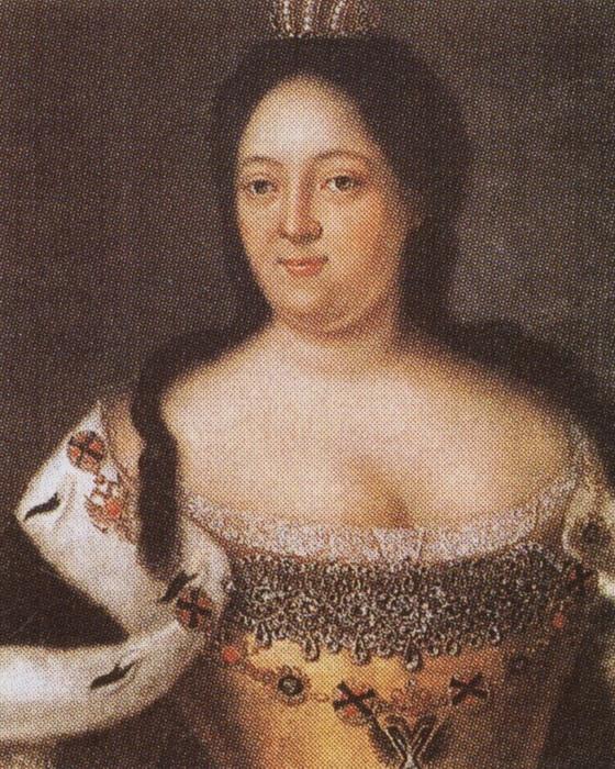 Иоганн Генрих Ведекинд, Портрет императрицы Анны Иоанновны