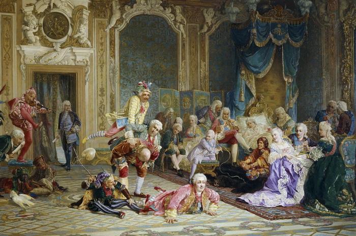 Валерий Якоби, Шуты при дворе императрицы Анны Иоанновны, 1872 г.