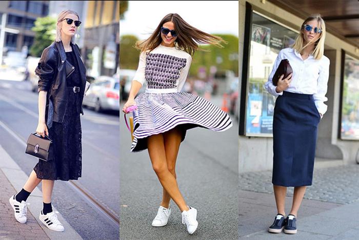 Органично сочетайте стили, чтобы наряды были красивыми и удобными.