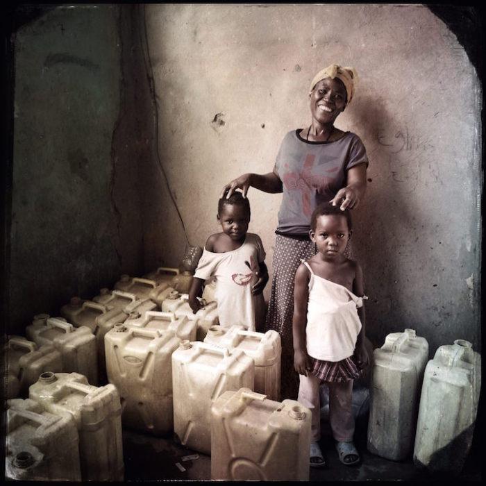 Sissy Nakalea решила проблему доставки воды в деревню