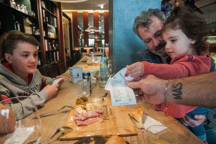 Скидка детям за хорошее поведение: акция в ресторане Антонио Феррари