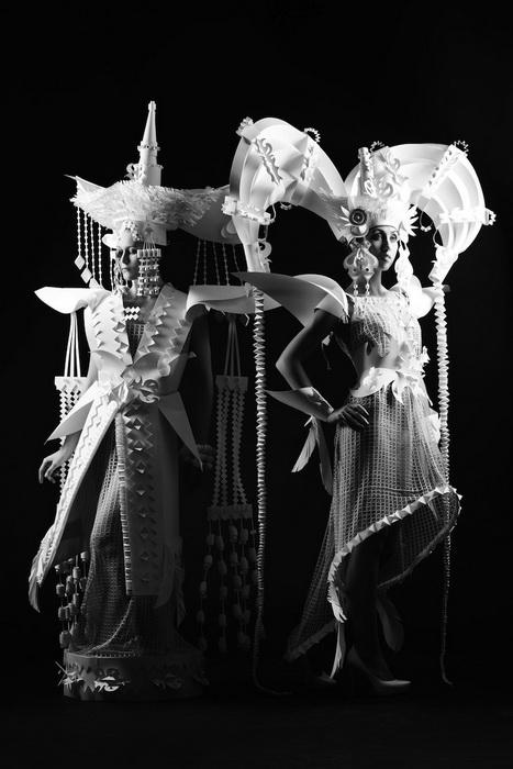 Монгольские свадебные платья от художницы Аси Козиной