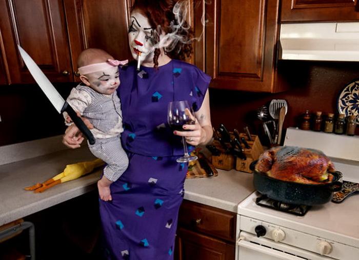 Bad Mommy: серия фотографий от американской матери-одиночки