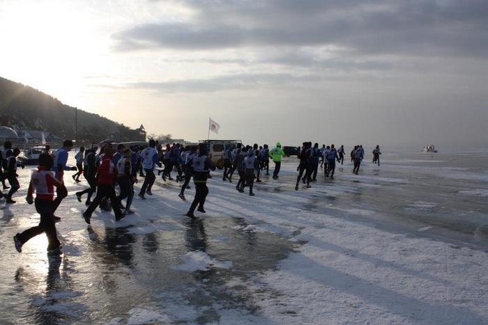 Байкальский ледовый марафон