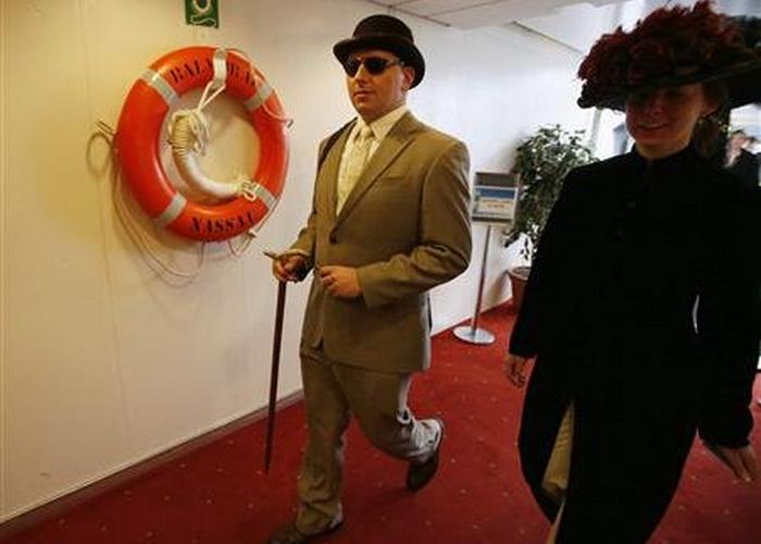 На борту Balmoral организаторы создали атмосферу шика и роскоши