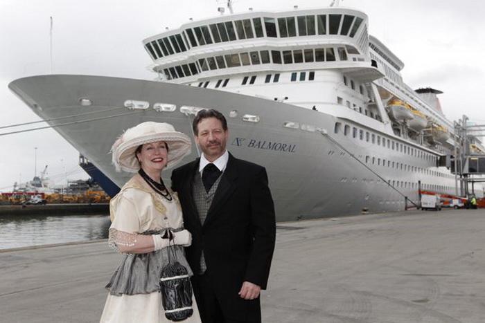 Лайнер Balmoral готов к 12-дневному круизу по маршруту *Титаника*