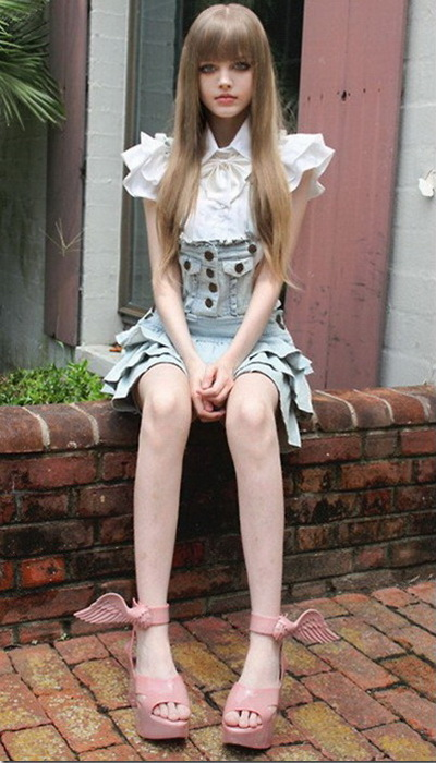 Ожившая кукла Барби