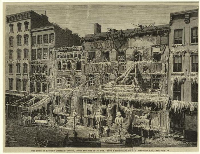 Полностью разрушенное здание музея