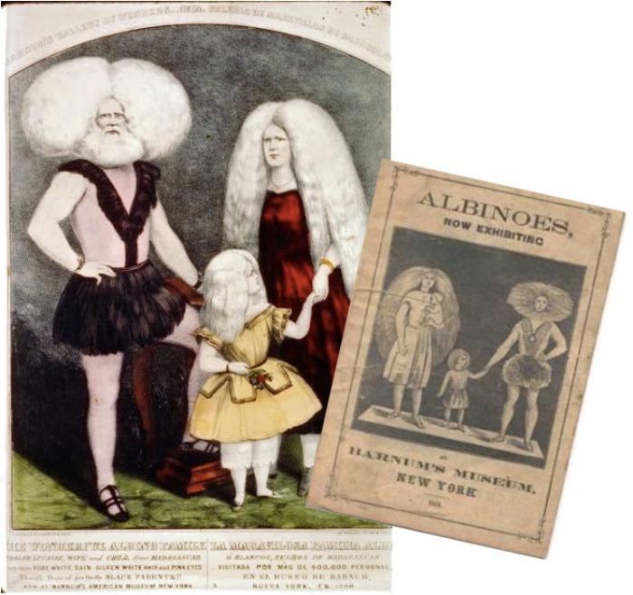 Диковинная семья альбиносов