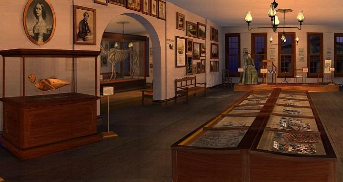 Историки воссоздали экспозицию музея