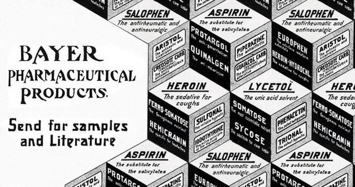 Фармацевтическая продукция компании Bayer.