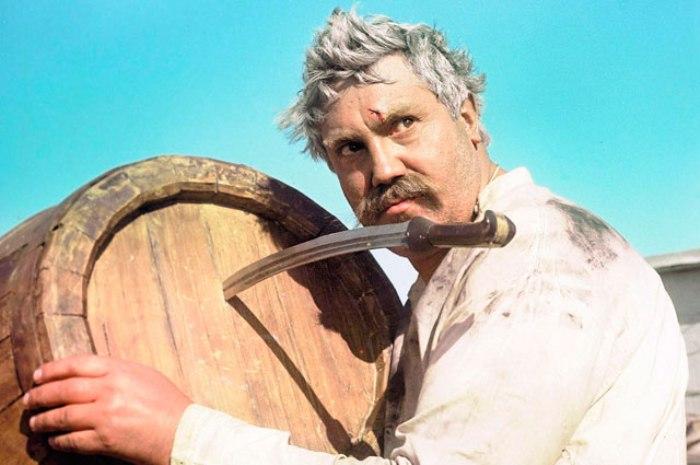 Актер Павел Луспекаев в образе Павла Верещагина