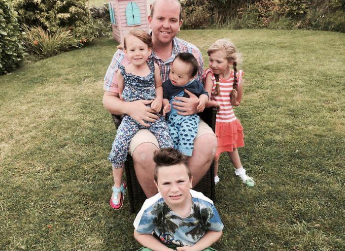Счастливая семья Бенджамина Карпентера.