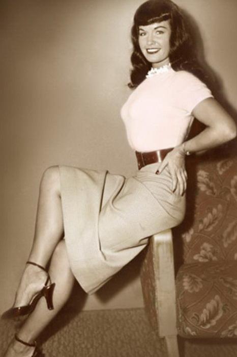 Бетти Пейдж - королева пин-апа и звезда Playboy