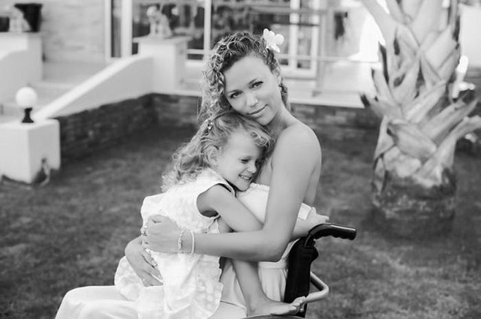 Ксения Безуглова с дочерью
