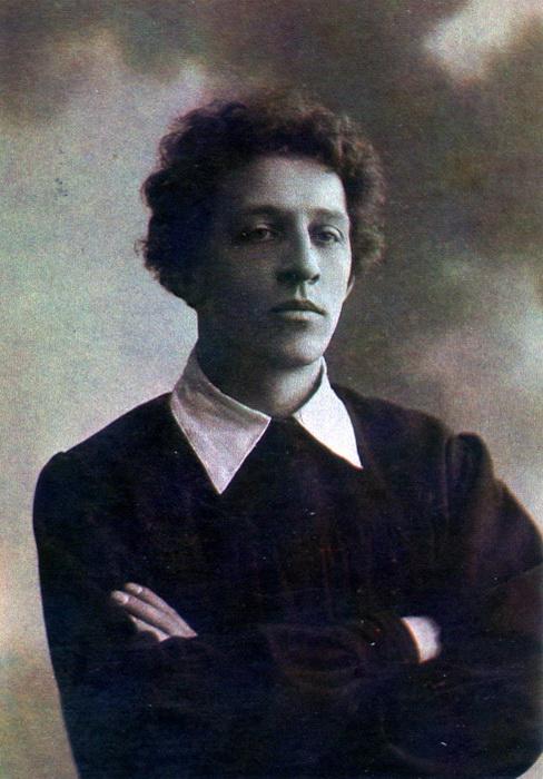 Портрет Александра Блока, 1907 год