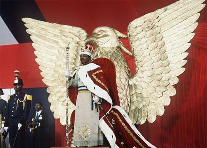 Коронация Бокасса, каннибала-императора Центральноафриканской Республики