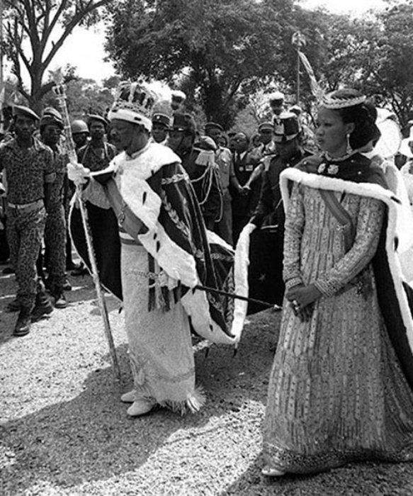Африканский диктатор Жан Бокасса.