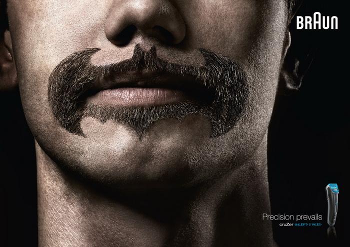 Бэтмен. Супер борода от фирмы Braun