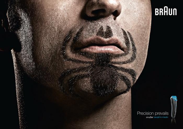 Человек-паук. *Героическая* борода от фирмы Braun