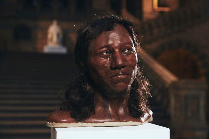 Скульптуру создали по результатам анализа ДНК мужчины, который жил около 10 тысяч лет назад.