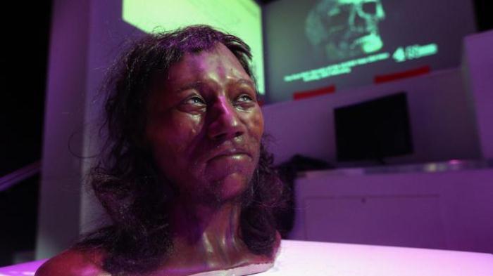 Ученые предполагают, что у человека из Чеддара была темная кожа, кучерявые волосы и голубые глаза.