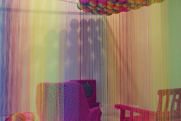 Радужная комната от дизайнера Pierre le Riche