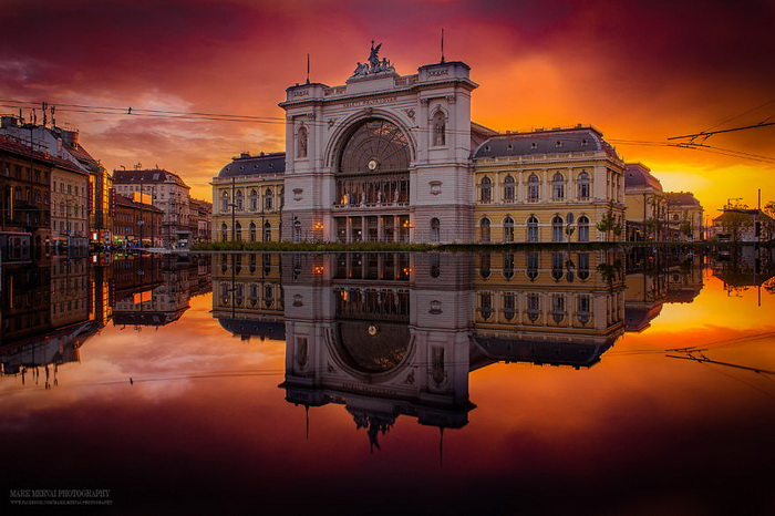 Невероятные фотографии Будапешта на закате солнца