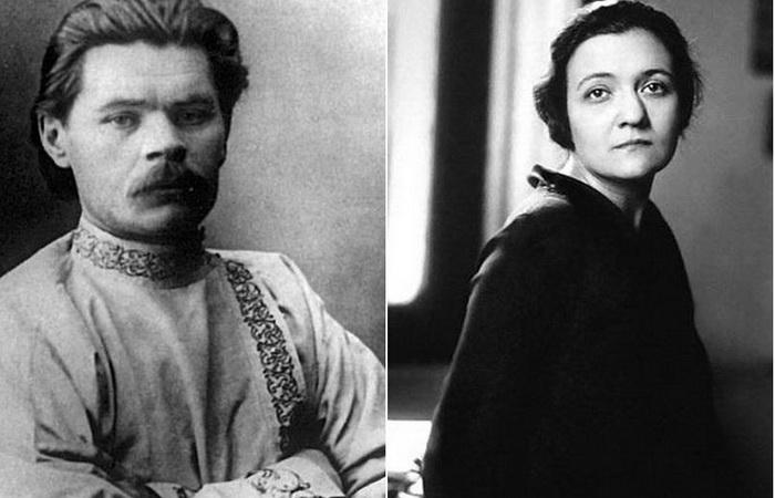 Максим Горький и Мария Будберг. Фото: kstolica.ru