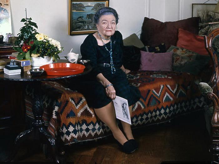 Мария Будберг на закате жизни. Фото: mk.ru