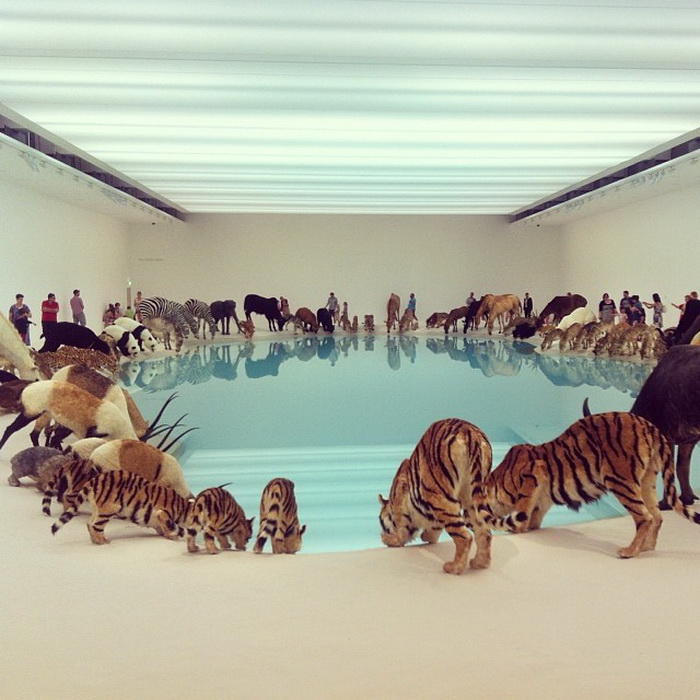 Инсталляция Heritage 2013 от китайского художника Цая Го-цяня (Cai Guo-Qiang)
