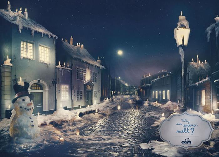 Реклама для любознательных деток: Почему тает снег?
