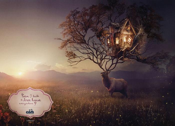 Реклама для любознательных деток: Могу я построить дом на дереве где угодно?