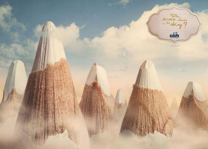 Реклама для любознательных деток: Кто рисует облака на небе?