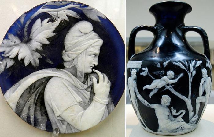 Портлендская ваза - один из наиболее выдающихся сохранившихся до наших дней образцов изделия из художественного стекла.
