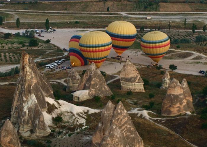 Прогулка на воздушном шаре над Каппадокией, Турция