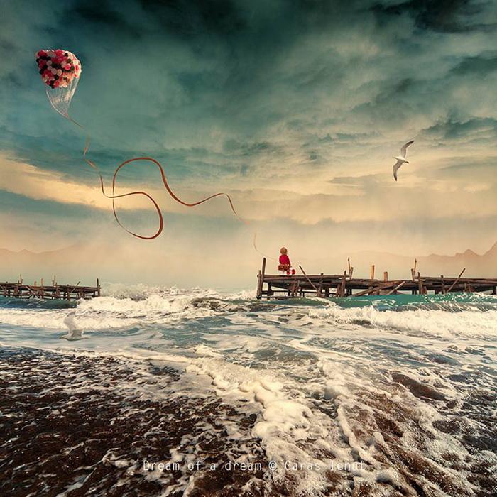 Мечта о мечте. Фотоиллюстрация Караса Йоната (Caras Ionut)