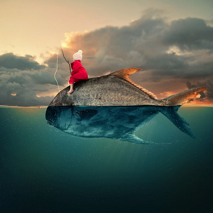 Фантастические фотоиллюстрации от румынского художника Караса Йоната (Caras Ionut)