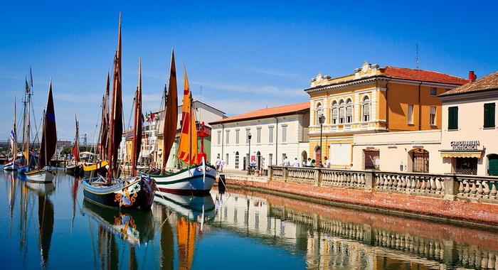 Чезенатико: маленькая Венеция, спроектированная Леонардо да Винчи