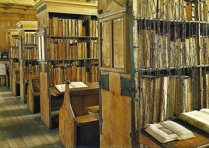 Библиотека Херефордского кафедрального собора