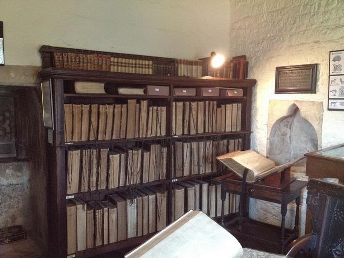 В Библиотеке Франциска Тригге хранится 80 книг на цепи