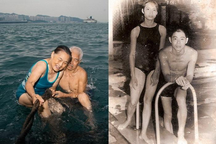 Вплавь до Гонконга: пара совершила рискованный заплыв в 1973 году и продолжает тренироваться, несмотря на возраст.