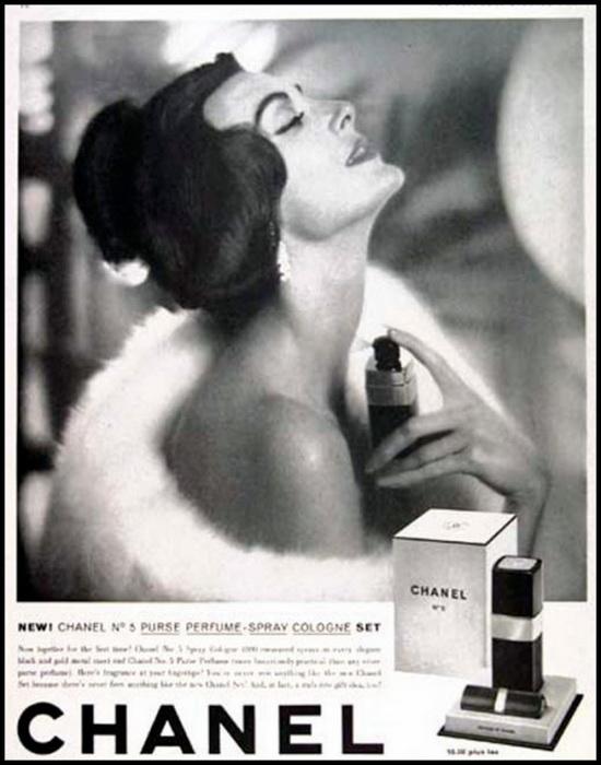 Реклама Chanel №5.