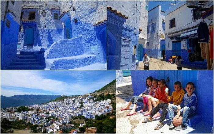 Шефшауэн - синий город в Марокко