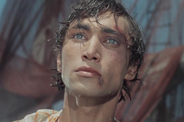 Человек-амфибия. Кадр из фильма