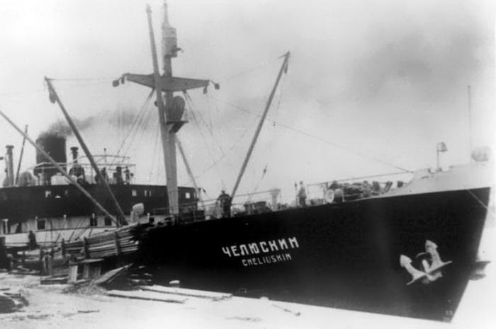 Челюскин - пароход-легенда | Фото: Commons.wikimedia.org