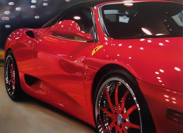 Ferrari, нарисованный Шерил Келли