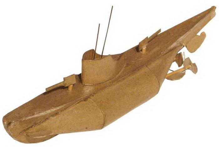 Все подводные лодки сделаны вручную
