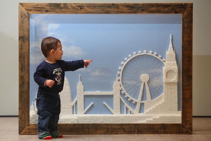 Панорама Лондона из сахара. Творчество Криса Нейлора (Chris Naylor)